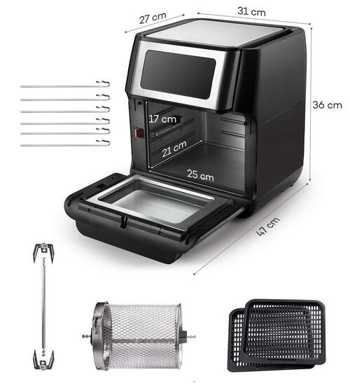 Freidora sin aceite Innsky Air Fryer Oven