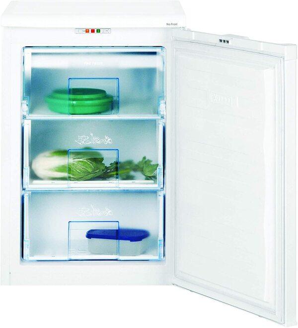 Congelador vertical pequeno Beko FNE 1072