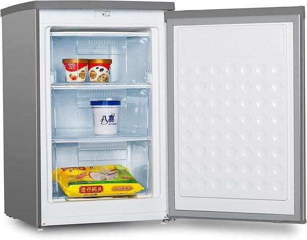 Congelador vertical pequeno INFINITON INOX