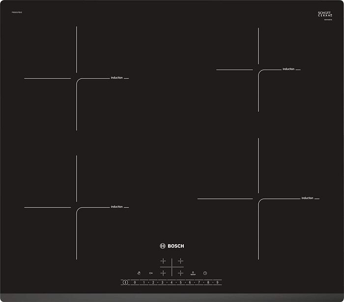 Placa de induccion Bosch Serie 6 PIE631FB1E