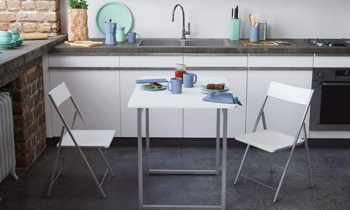 Mejores mesas plegables de cocina