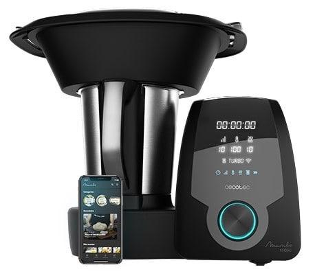 Cecocet Robot de Cocina Multifunción Mambo 10090 Con APP