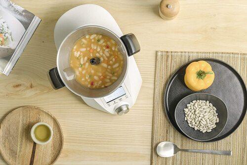 recetas en robot de cocina