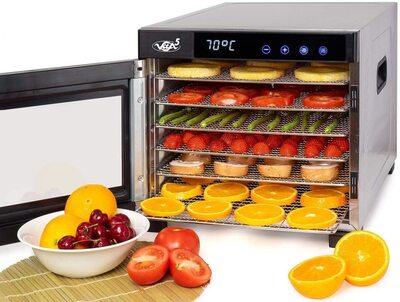 Deshidratador Alimentos Vita5 Nobel Pro