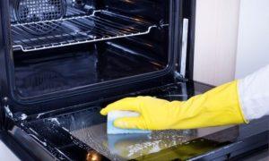 cómo limpiar un horno muy sucio