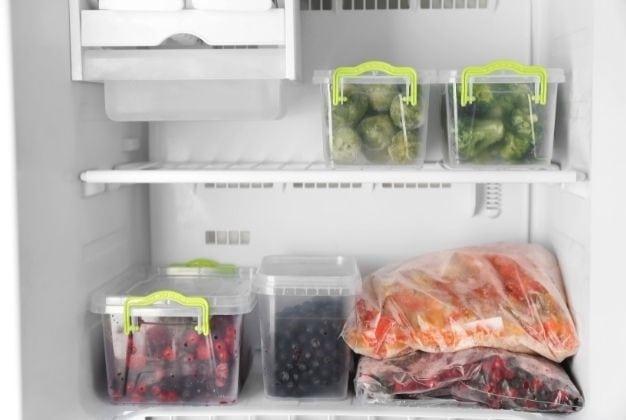 Organizar un congelador